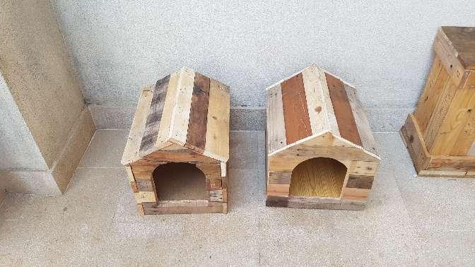 Imagen Casetas de perro a medida desde 35€ 40 alto × 33 ancho × 40 fondo