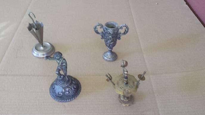Imagen Miniaturas Vintage Cuatro piezas