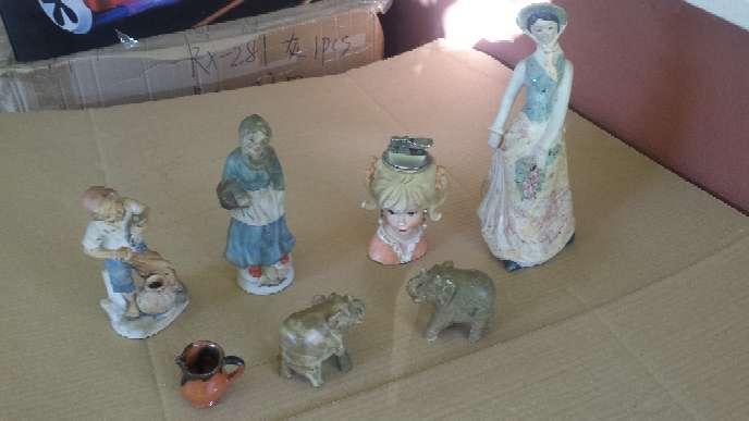 Imagen Figuras Vintage Siete piezas