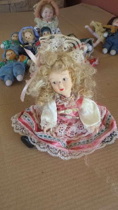 Imagen producto Muñecas de porcelana 13 unidades 3 tamaños 5