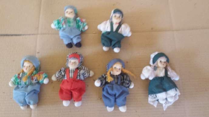 Imagen producto Muñecas de porcelana 13 unidades 3 tamaños 7