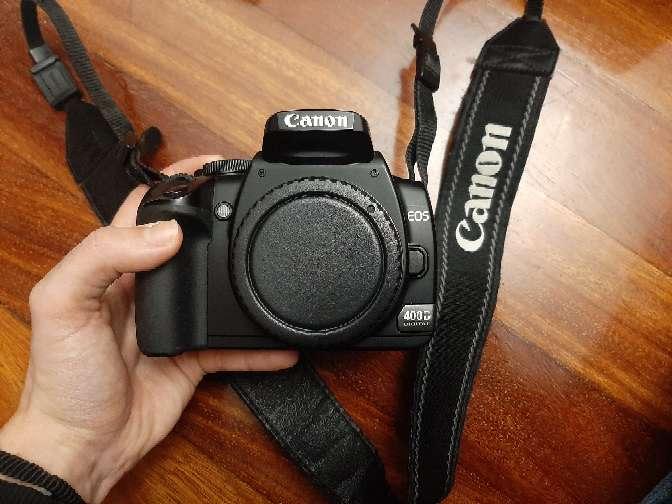 Imagen producto Cámara fotos Canon 400D 4