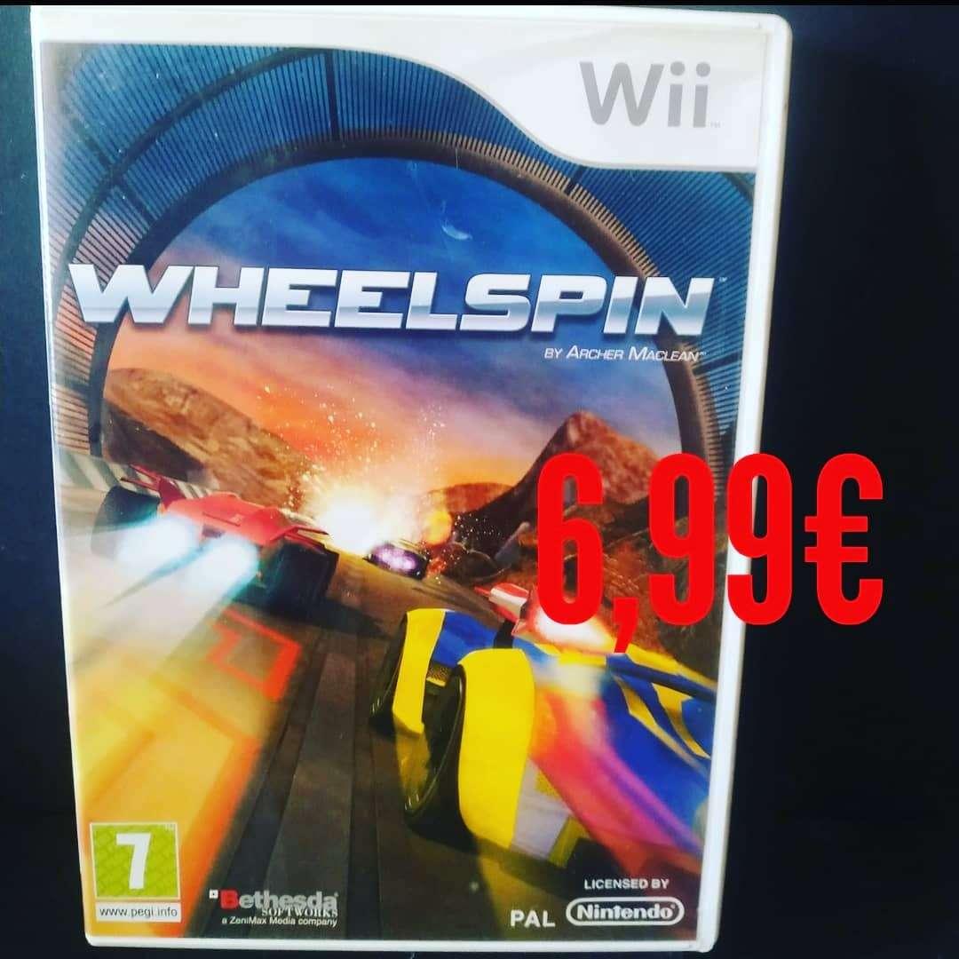 Imagen WHEELSPIN Wii