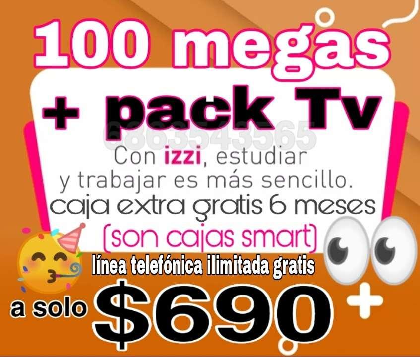 Imagen internet y cable