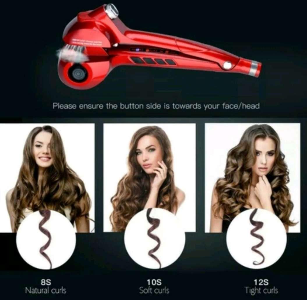 Imagen Rizador Profesional de Pelo, de Cerámica para todo tipo de cabello