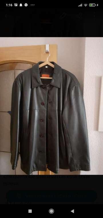 Imagen chaqueta caballero de piel