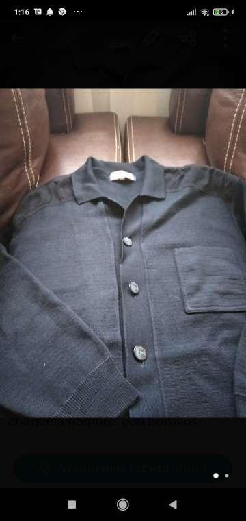 Imagen chaqueta caballero de punto