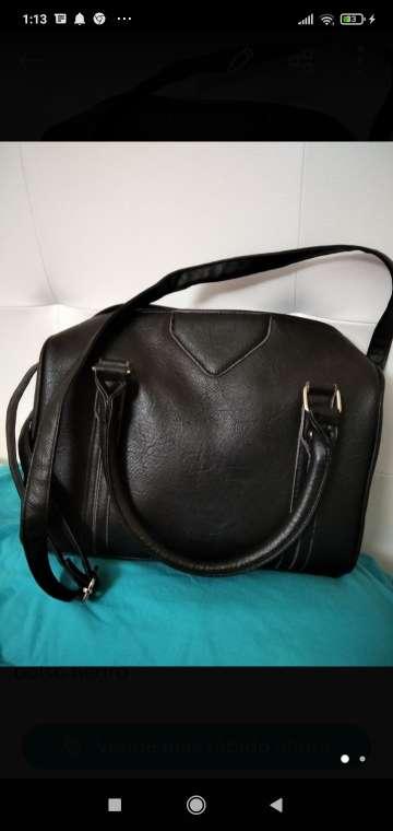 Imagen bolso señora negro