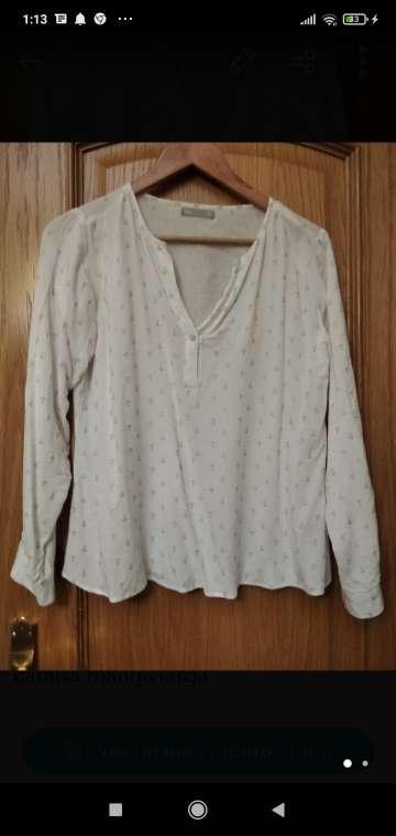 Imagen camisa señora manga larga
