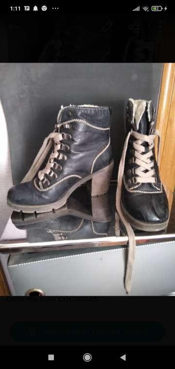 Imagen botines negros señora