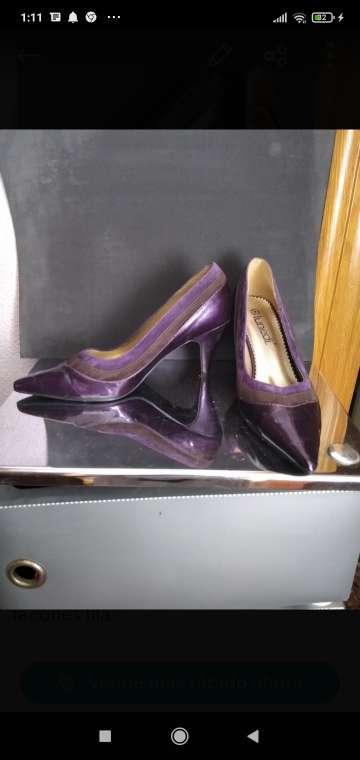 Imagen zapatos se?ora lilas