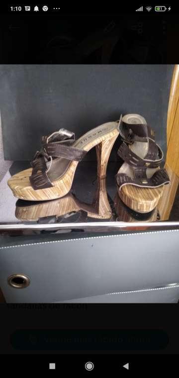 Imagen sandalias señora tacón