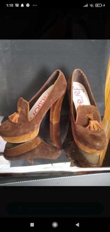 Imagen zapatos señora tacón alto