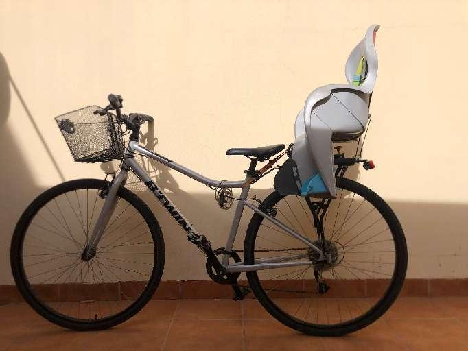 Imagen Bicicleta con silla niños