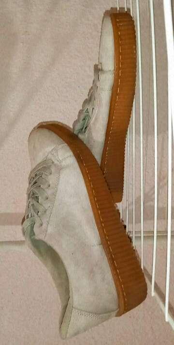 Imagen Zapatillas plataforma terciopelo