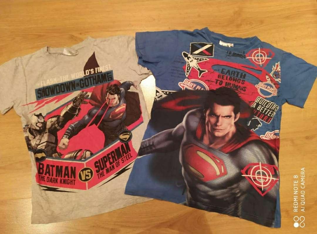 Imagen Lote 2 camisetas Superman 10 años
