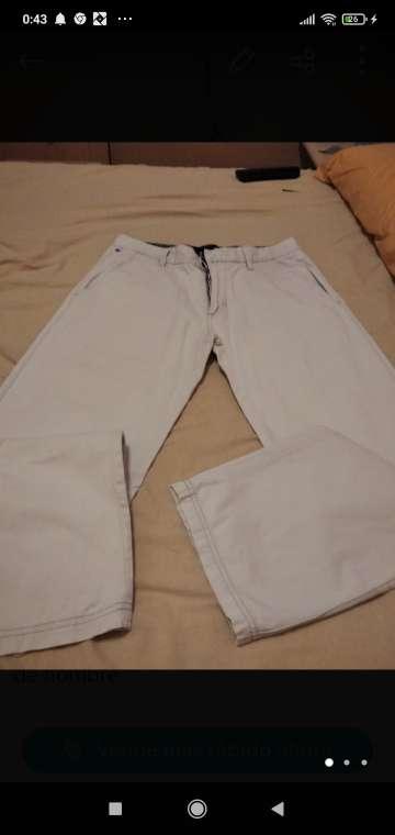 Imagen pantalón chico blanco