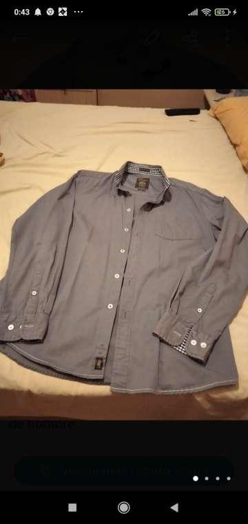 Imagen camisa de chico gris