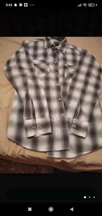 Imagen camisa de cuadros chico