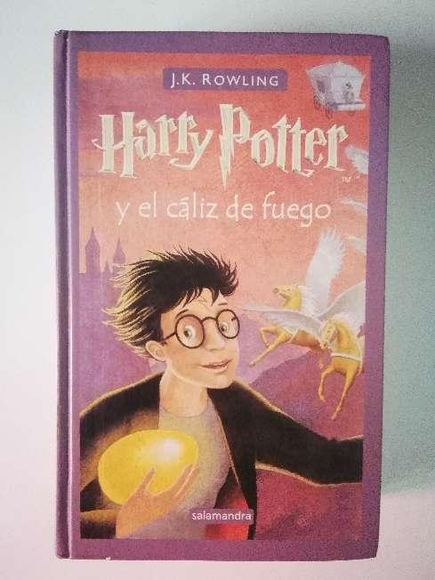 Imagen Harry Potter y el cáliz de fuego.