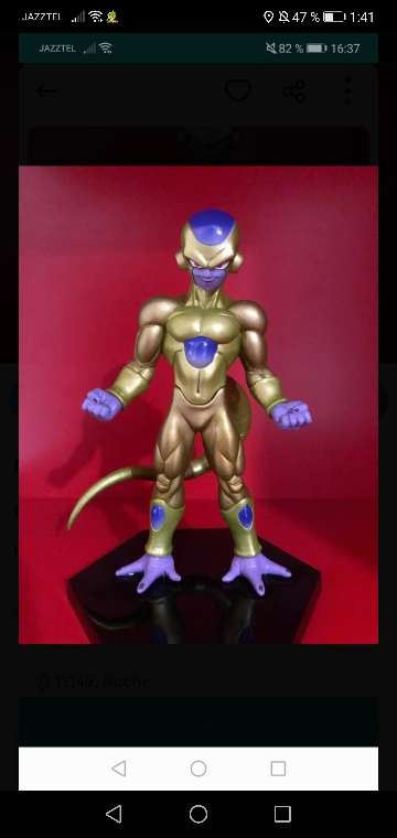Imagen Dragon ball freezer gold