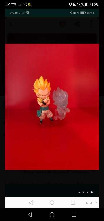 Imagen Dragon ball figura