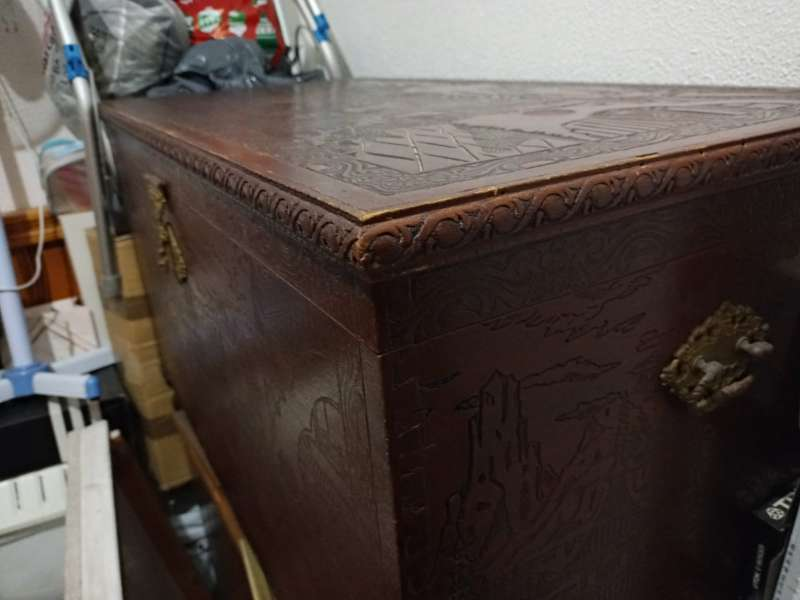 Imagen producto Baúl de madera  2