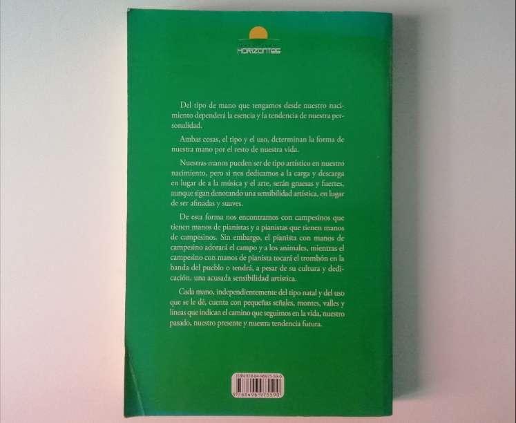 Imagen producto Quiromancia Cómo leer las líneas de las manos 2