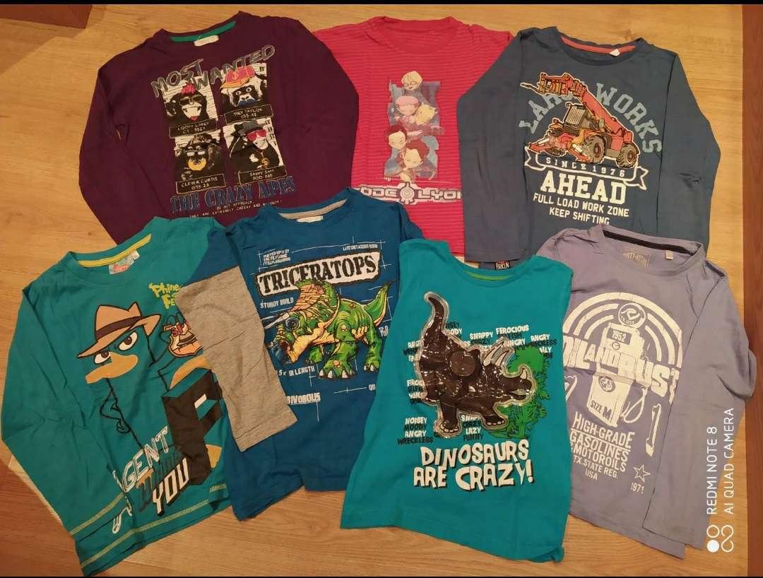 Imagen Lote 7 camisetas 7 años