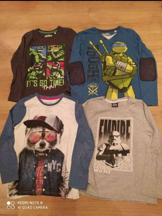 Imagen Lote 4 camisetas niño 9 años