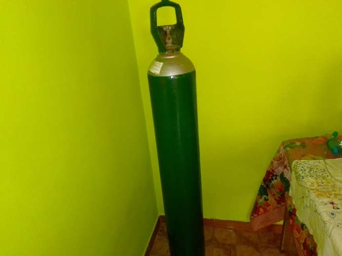 Imagen producto Balón de oxígeno 10 metros cúbicos 1