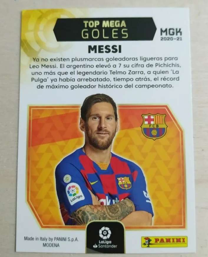 Imagen producto Messi edición limitada.  2
