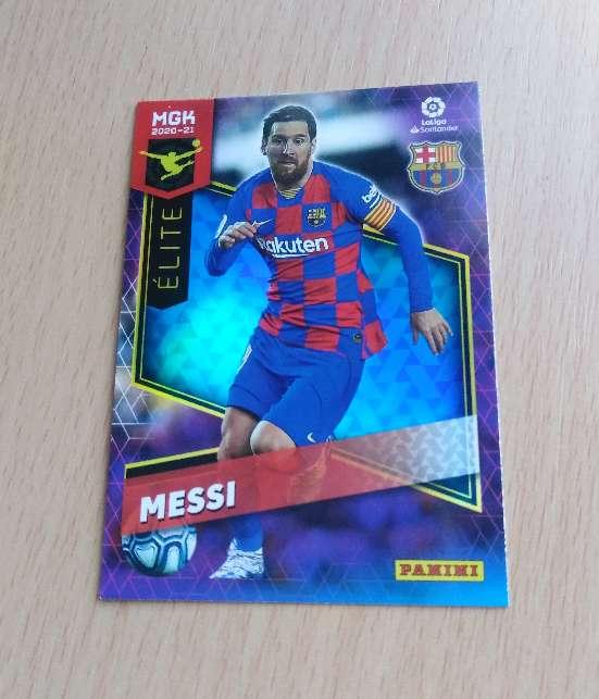 Imagen Messi cromo / card fútbol.