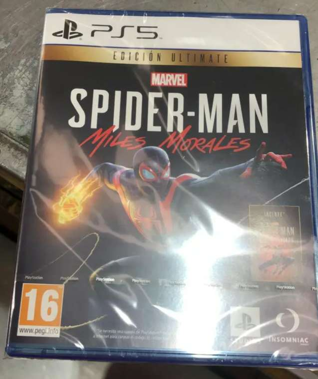 Imagen Spider Man Ps5