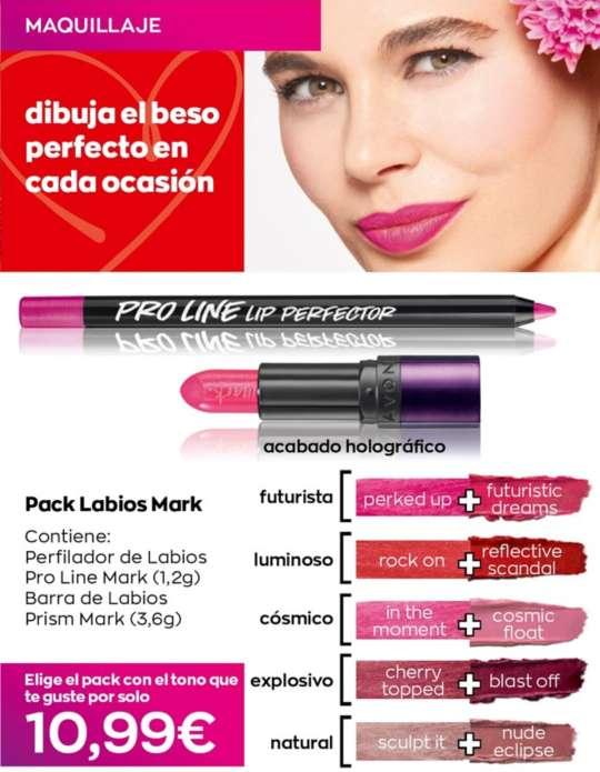 Imagen producto Maquillaje  para ponerse Vella para San Valentín 5