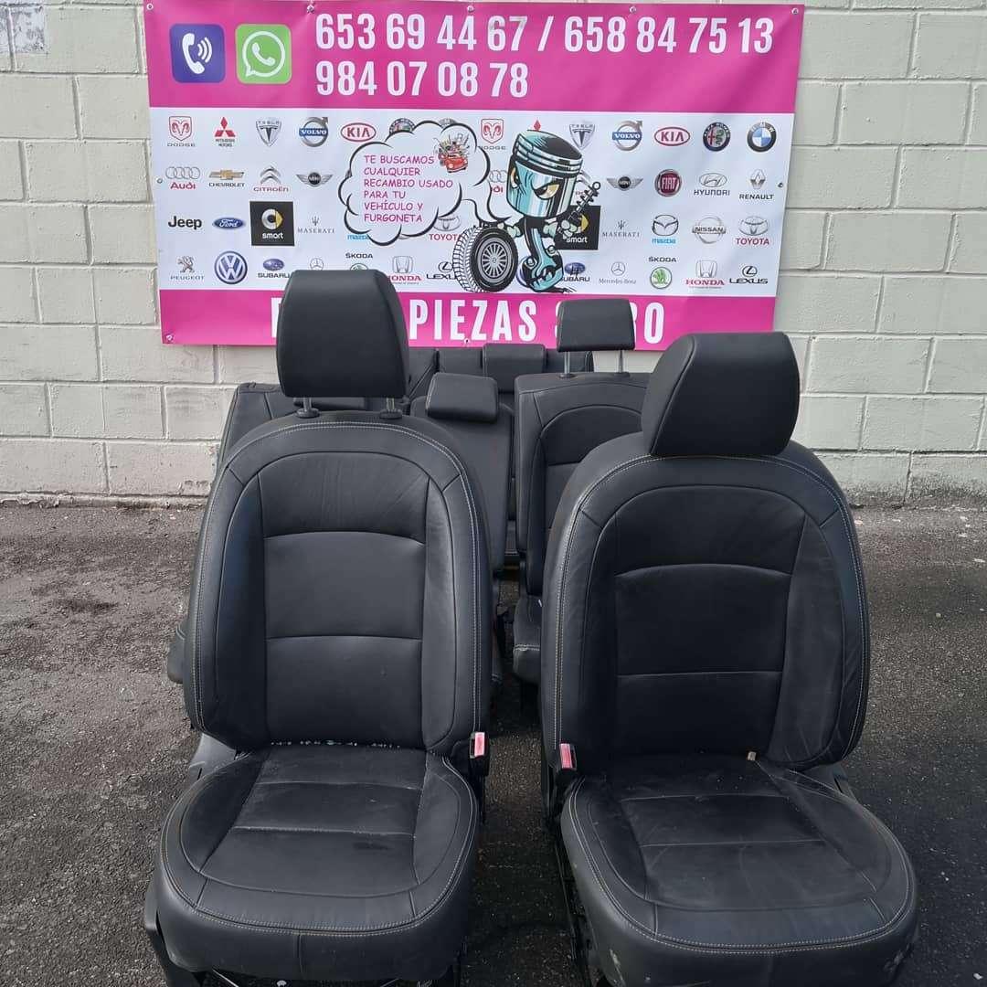 Imagen Juego de asientos de cuero 7 plazas Nissan qashqai año 2010/2014