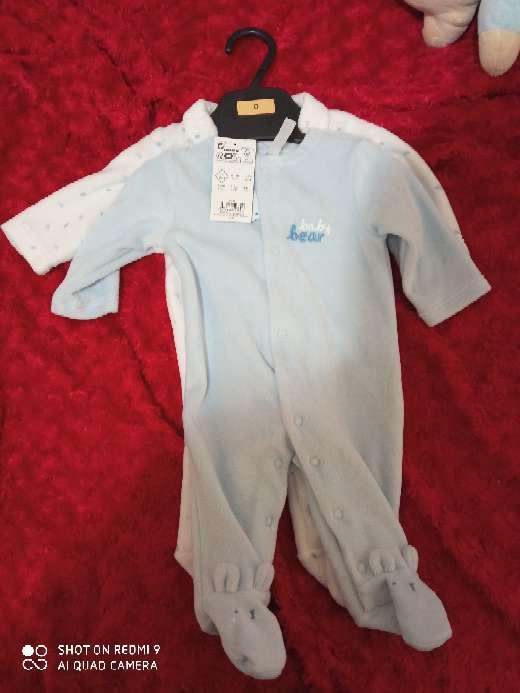 Imagen producto Pijamas de bebes con etiquetas 0-3 meses 2