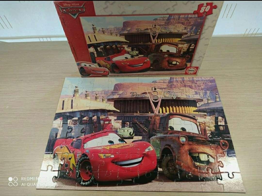 Imagen Puzzle Cars 80 piezas