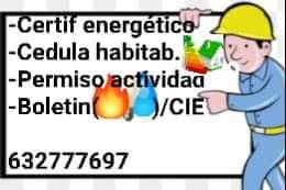 Imagen Certificado Energético o Cédula Habitabilidad
