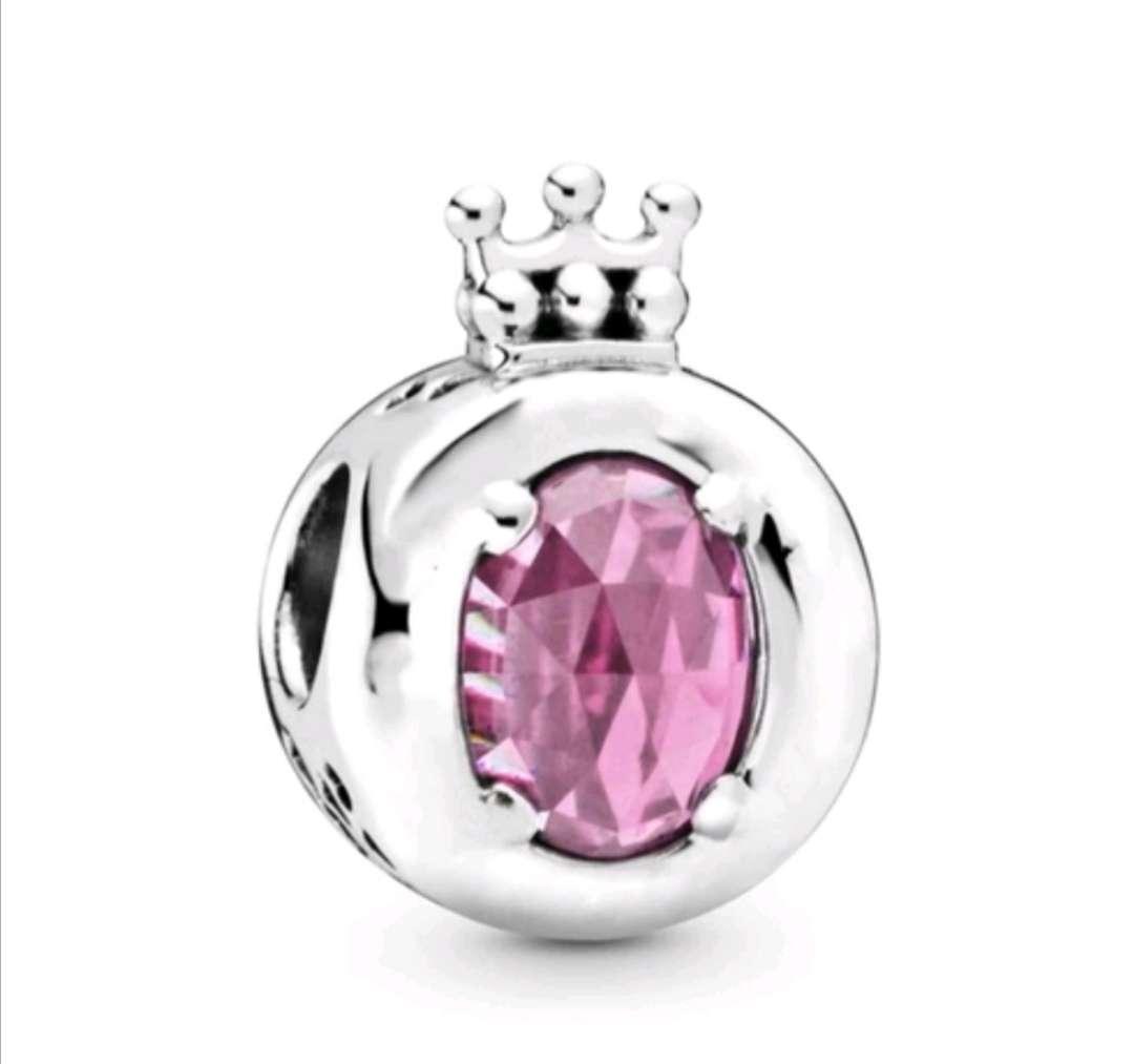 Imagen Charms Corona Reina para pulsera de Pandora bañados en Plata