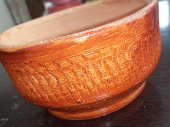 Imagen vasija de barro pequeña