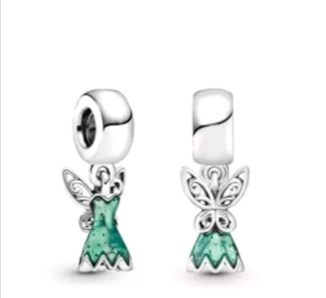 Imagen Charms - abalorio Princesa Campanilla para pulsera de Pandora bañado en plata