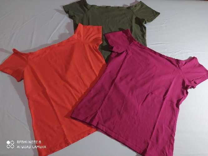 Imagen Lote 3 camisetas talla M