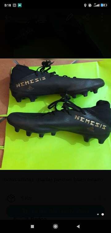 Imagen botas de fútbol Adidas