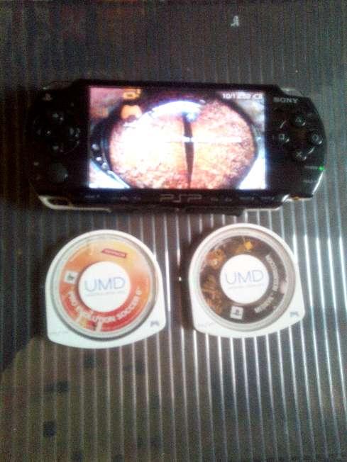 Imagen PSP con 2 juegos