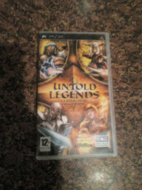 Imagen PSP untold Legends  la hermandad de la espada