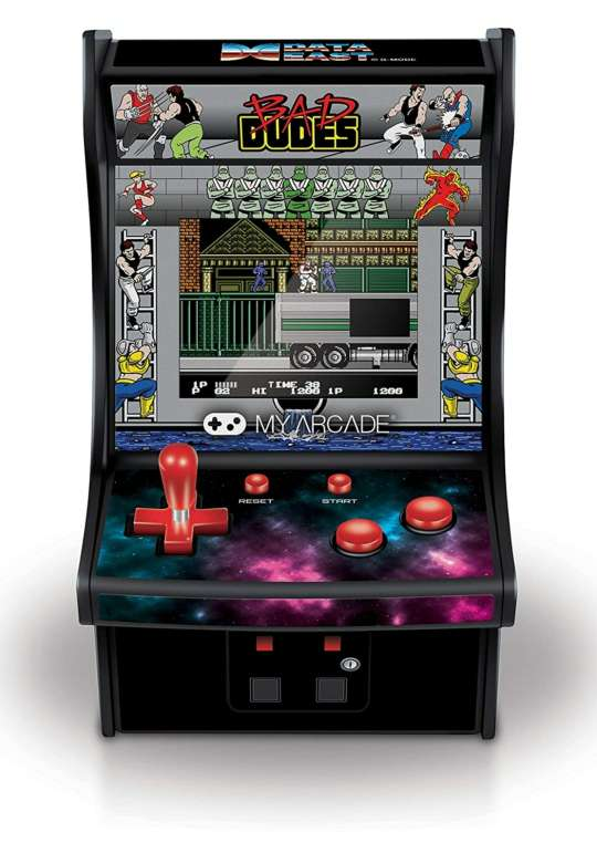 Imagen Micro Arcade Namco Bad Dudes