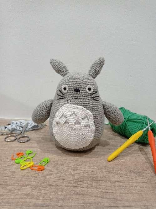 Imagen Peluche Totoro ganchillo