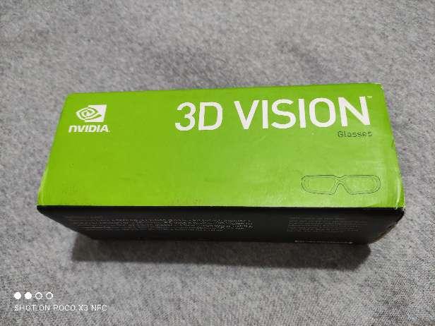 Imagen gafas 3D de Nvidia