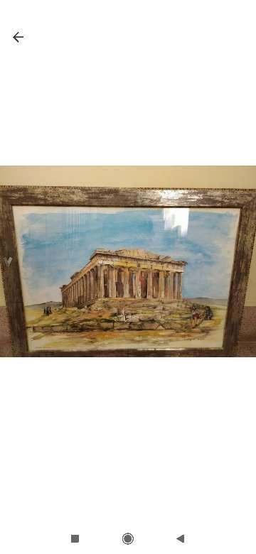 Imagen  Vendo Athens cuadro